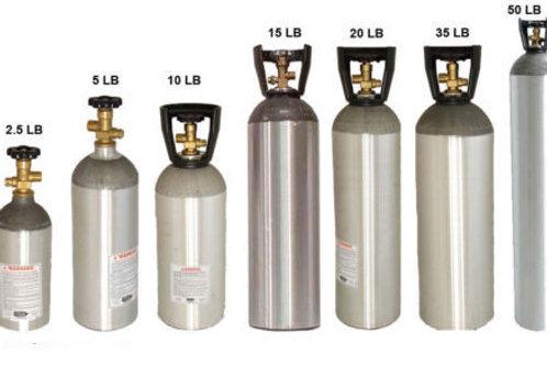 CO2 TANKS FOR BEER KEGERATORS - SODA & OTHER BEVERAGES