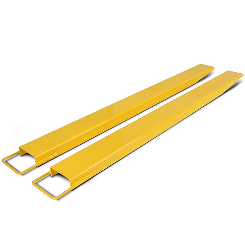 Titan Attachments Pallet Fork Extensions for Forklifts and Loaders, Steel, 60""