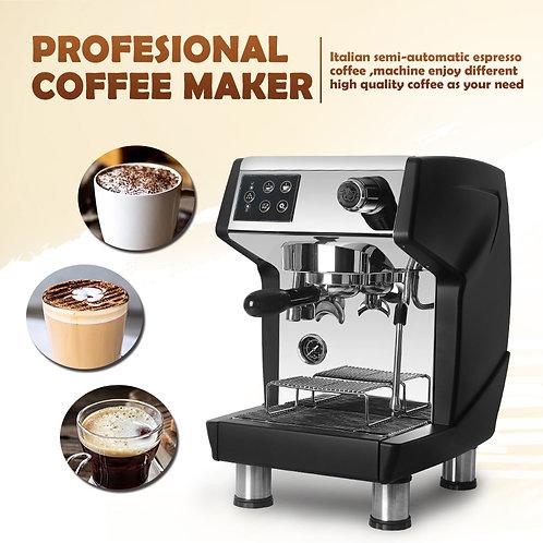 Commercial Espresso Coffee Machine Coffee Maker Descale Button 1.7L - Water Tank