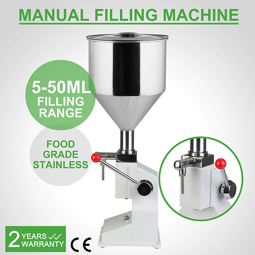Filling machine - 5 - 50 ml - liquid filler