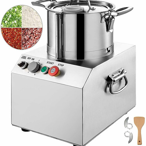 4L Commercial Food Processor Food Grinder Food Chopper S.Steel Vegetable Dicer