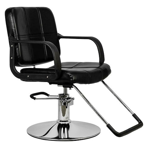 Black Classic Hydraulic Barber Chair Salon Beauty Shampoo Hair Styling Equipment