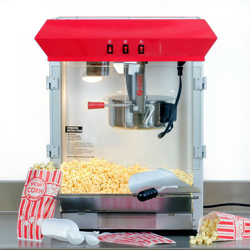 Carnival King 8 oz. Popcorn Machine / Popper - 120V, 850w