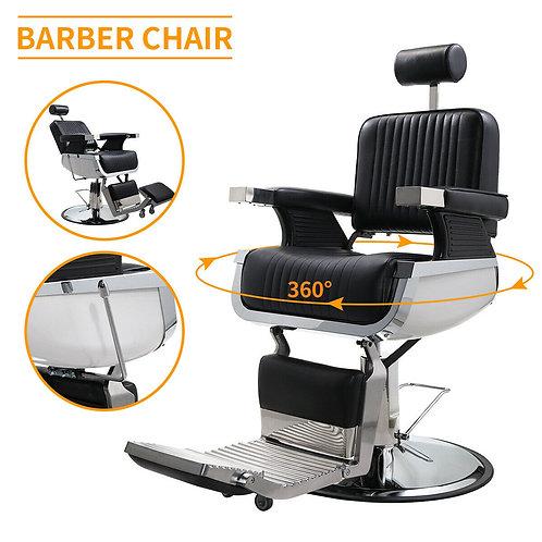 Heavy Duty Hydraulic Recline Barber Chair Salon