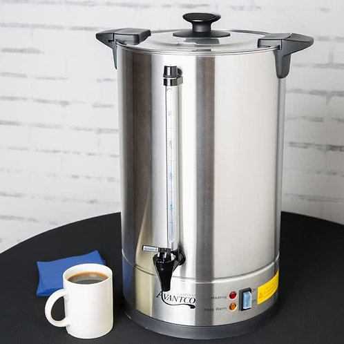 110 cup coffee urn peculator  - stainless steel