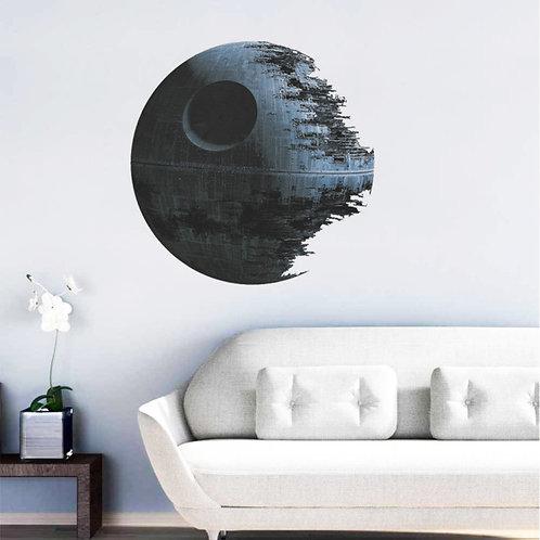 Star Wars Death Star Vinyl Wall Sticker