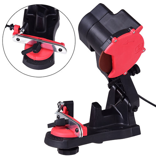 4200RPM Electric Chainsaw Chain Saw Sharpener Grinder Bench Wall Vise Mount New