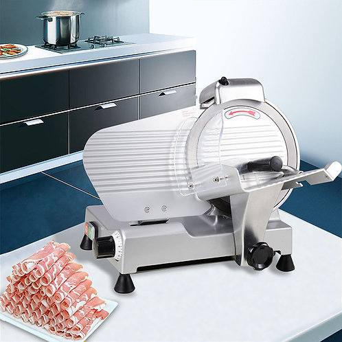 "New 12"" Blade Commercial Meat Slicer Deli Meat Cheese Food Slicer Industrial"