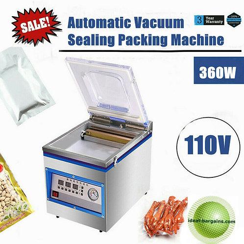 1.8L Commercial Vacuum Sealer 360W Food Vacuum Sealing Packing Machine 110V