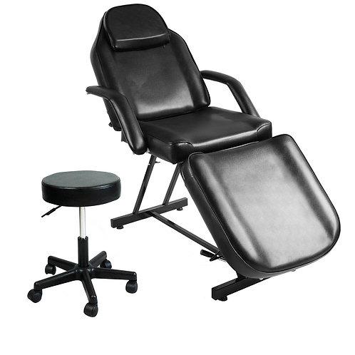 Tattoo Massage Bed Beauty Barber Chair Adjustable Hydraulic Stool Facial Salon