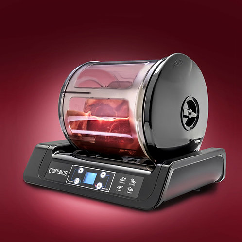 CHEF'S ELITE MEAT MARINATOR - 15 MINUTE MARINATER - AUTO SHUT OFF TIMER