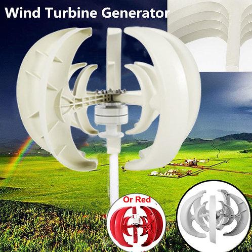 400W 24V Lantern Type 5-Blade Vertical Axis Wind Turbine Generator VIP