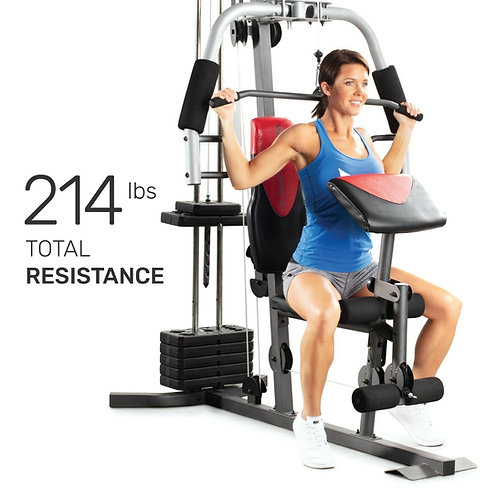 Home Gym Fitness Machine Exercise Workout Weights Bench System
