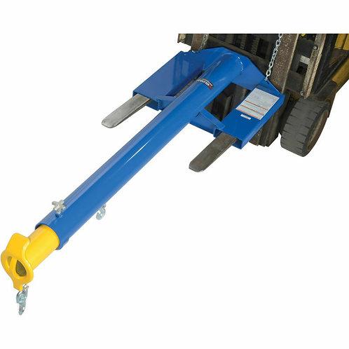 Forklift Telescoping Jib Boom Crane Economaster 6000 Lb. - FREE SHIPPING