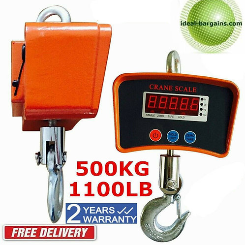 500 KG - 1100 LB handging scale - industrial model