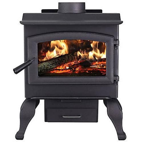 Wood burning stove - heats 1200 square feet