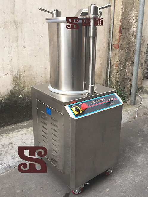 300KG/H Automatic Hydraulic Rapid Sausage Stuffer Sausage Filler Commerical
