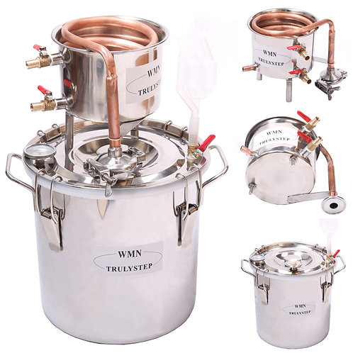 WATER DISTILLER  W EQUIPMENT -  6 SIZES - FREE SHIPPING