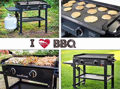 Gas-Flat-Top-Grill-Restaurant-Professional-Commercial-Griddle-Two-Burner-C