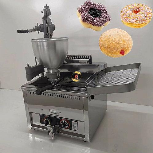 9L Commercial Manual Doughnut Ball Donut Maker Machine Natural Gas Fryer 3 Molds