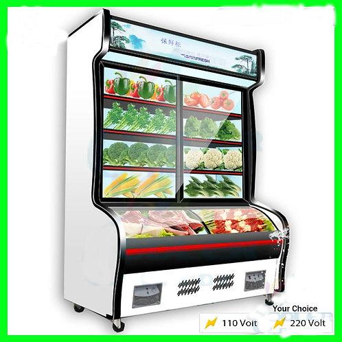 """79"""" Refrigerator Freezer  Combo Merchandiser Display Combination"""