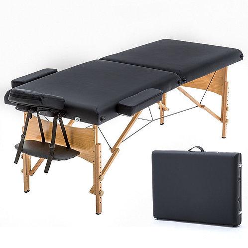 Portable Folding Massage Table Bed Spa Salon Facial Tattoo Physical