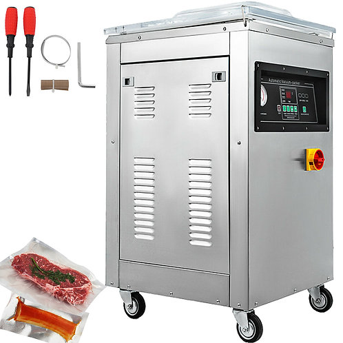 Automatic Vacuum Sealer Sealing Machine Chamber Food Packing 110V