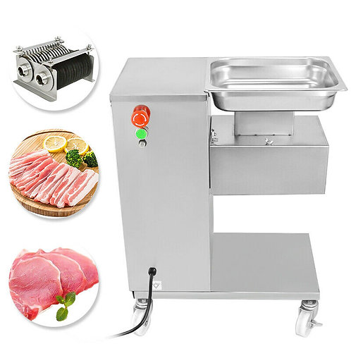 Meat Cutting Slicer with Two Blades Sets -