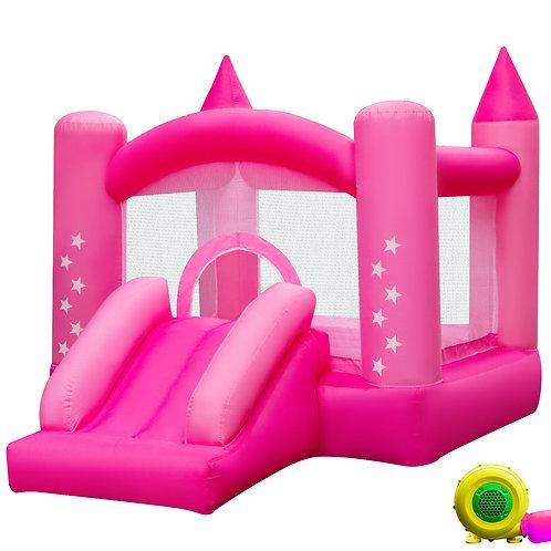 Inflatable Bounce House Castle Kids Jumper Slide Moonwalk Bouncer with Blower