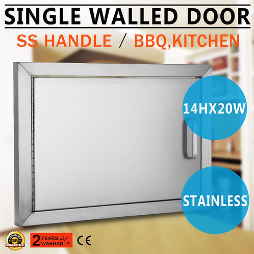 OUTDOOR KITCHEN / BBQ ISLAND STAINLESS STEEL ACCESS DOOR MANY SIZES