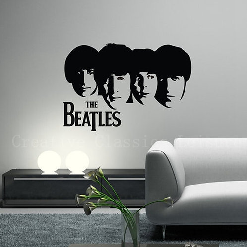 """""""The Beatles"""" wall decal"""