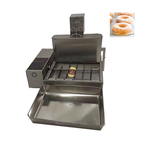 6 Rows Commercial Heavy Duty Electric Automatic Mini Donut Machine Fryer