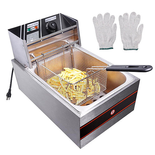Commercial Electric Deep Fryer Single Tank