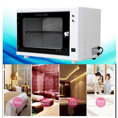 Durable 10W 110V UV Sterilizer Cabinet Beauty Salon Spa Nail Towel Machine H5I7