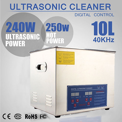 10 litre ultrasonic  cleaner - Brand new - FREE SHIPPING