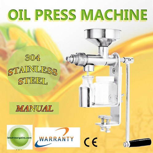Manula Oil Press expeller extractor Machine