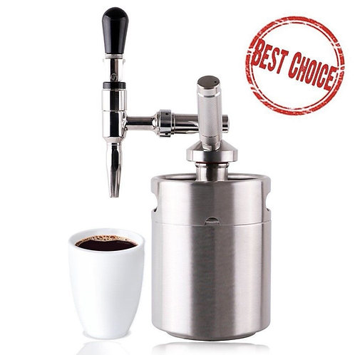 DIY Nitro Cold Brew Coffee Maker with 3.6L Growler Home brew coffee System Kit