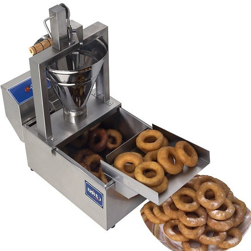 Small compact donut fryer with manual machine - BRAND NEW - FREE SHIPPING