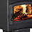 Thumbnail: Heats  2,500 Sq. Ft. Wood Burning Stove with Cast Iron Legs