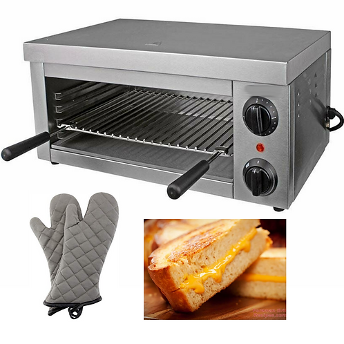 New Electric Cheesemelter-  Countertop Broiler BBQ Grill