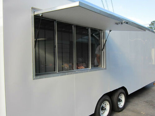 "New Concession Trailer Serving Window, 40 "" X 64"""