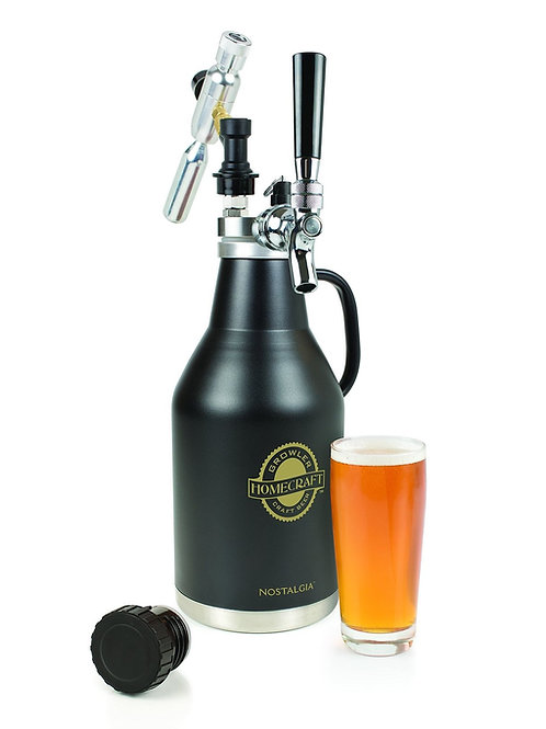 Nostalgia CBG64 Homecraft Beer Growler can be used for cold brew coffee