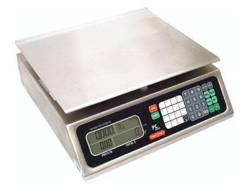 Torrey PC-80L, 80 x .02 lb Price Computing Deli Meat Scale w/ Godex DT2 Printer