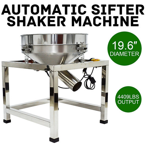 Automatic Sifter Shaker Machine Industrial Food Processing for Powder 110V