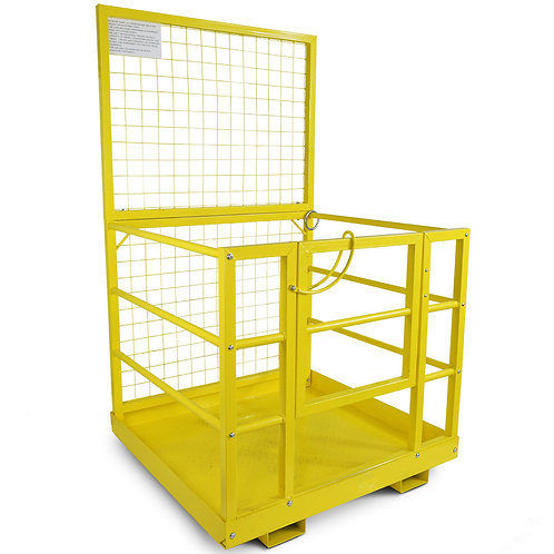 Forklift Safety Work Platform, Steel Safety Cage for Most Standard Forklifts