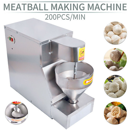 Meat ball making machine, fish meatball porkball chickenball