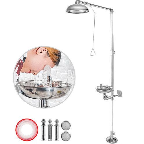 Emergency Eyewash Eye Wash Safety Combination Emergency Shower Stainless Steel