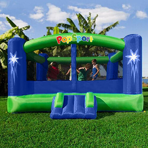 Inflatable Bounce House Castle Jumper Moonwalk Bouncer With 450W Blower