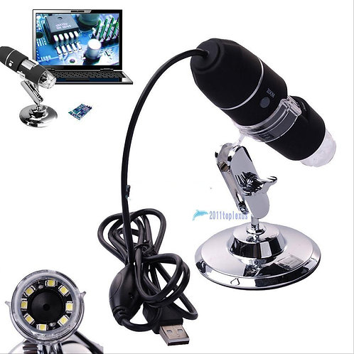 2mp 1000x 8 LED USB 2.0 Digital Microscope Endoscope Zoom Camera Magnifier Stand