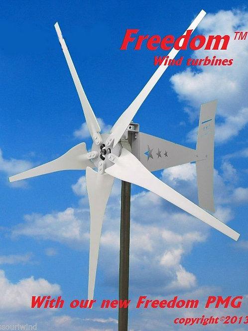 Freedom 24 volt 1700 watt max 5 blade wind turbine generator